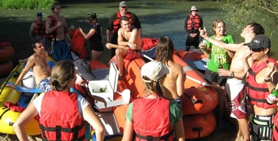 Breede River Rafting New Year Trip