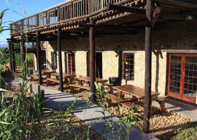 Nkwazi Camp Benches