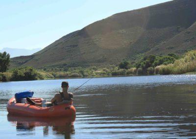 Rafting and Fishing